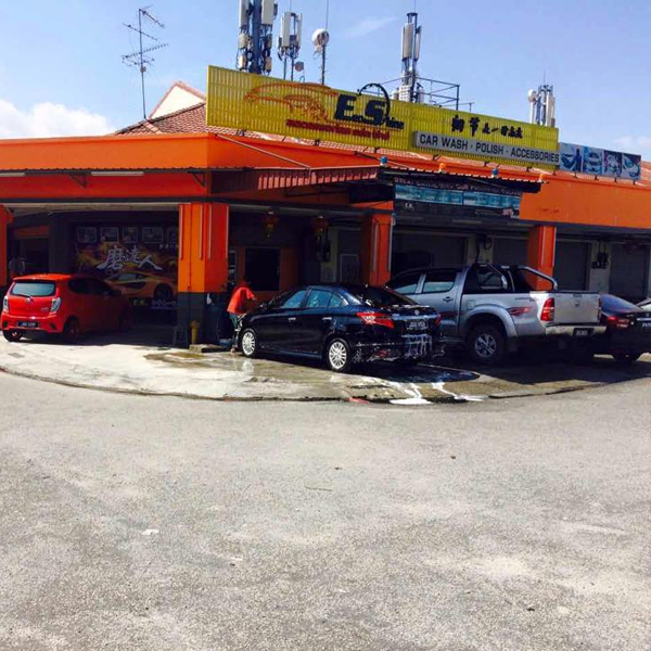 ecoshine setia indah car wash