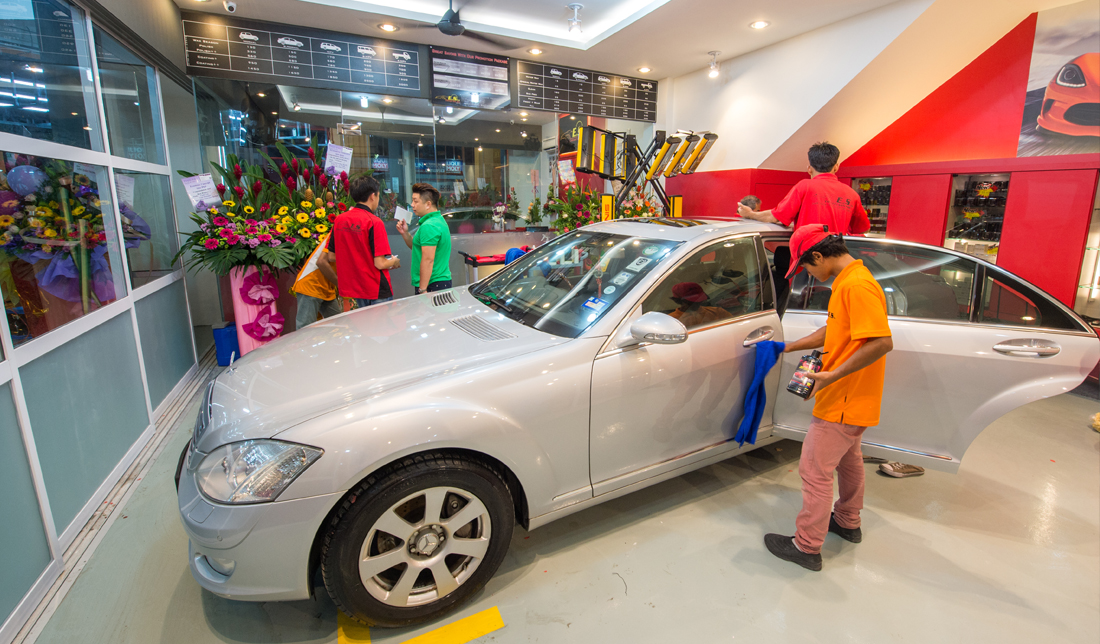 EcoShine Car Care Centre in Johor Bahru